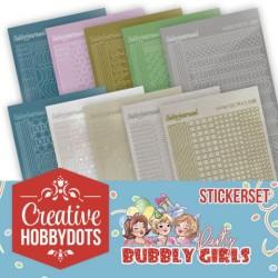 (CHSTS001)Creative Hobbydots 1 - Sticker Set