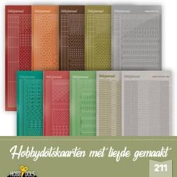 (STSHD211)Stickerset Hobbydols 211