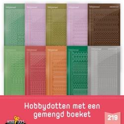 (STSHD219)Stickerset Hobbydols 219