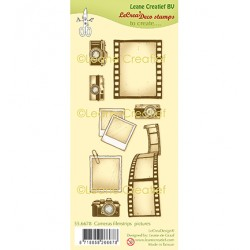 (55.6678)Clear Stamp Cameras, Filmstrips & Pictures