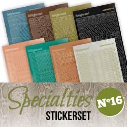 (SPECSTS016)Specialties 16 stickerset