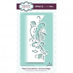 (CEDPC1106)Creative Expressions • Paper cuts Craft dies Sea horse edger