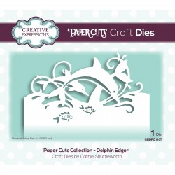 (CEDPC1107)Creative Expressions • Paper cuts Craft dies Dolphin