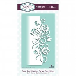 (CEDPC1110)Creative Expressions • Paper cuts Craft dies Perfect pansy edger