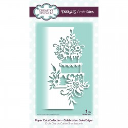 (CEDPC1111)Creative Expressions • Paper cuts Craft dies Celebration cake edger
