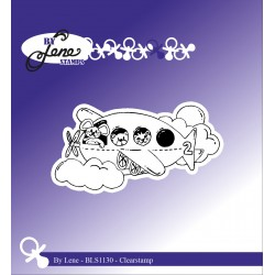 (BLS1130)By Lene Children Toys 2 Clear Stamps