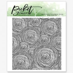 (BB-135)Picket Fence Studios Round and Round We Go Clear Stamps