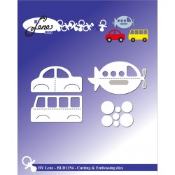 (BLD1254)By Lene Childrens Toys Cutting & Embossing Dies