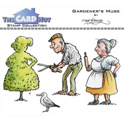 (MBWWGM)The Card Hut Gardener's Muse Clear Stamps