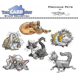 (MBWWPP)The Card Hut Precious Pets Clear Stamps