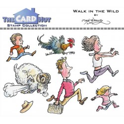 (MBWWWITW)The Card Hut Walk In The Wild Clear Stamps