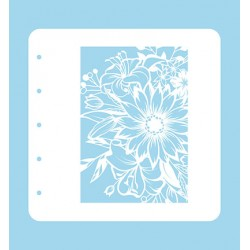 (COLST001)Nellies Choice Stencil Flower 1 for MSTS001