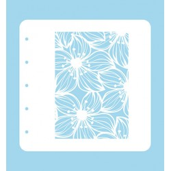(COLST002)Nellies Choice Stencil Flower 2 for MSTS001