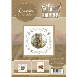 (CB10013)Creative Embroidery 13 - Amy Design - Wild Animals Outback