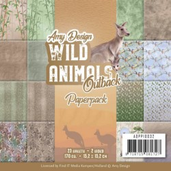 (ADPP10032)Paperpack - Amy Design - Wild Animals Outback