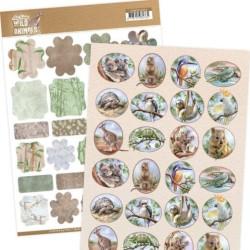 (ADMIN10006)Mini's - Amy Design - Wild Animals Outback