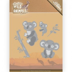 (ADD10208)Dies - Amy Design - Wild Animals Outback - Koala