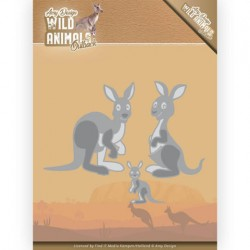 (ADD10209)Dies - Amy Design - Wild Animals Outback - Kangaroo
