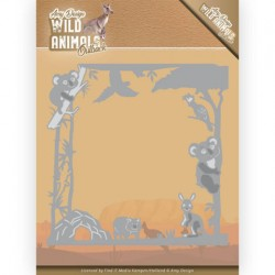 (ADD10203)Dies - Amy Design - Wild Animals Outback - Koala Frame