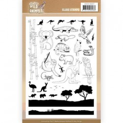 (ADCS10067)Clear Stamps - Amy Design - Wild Animals Outback