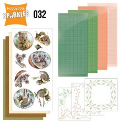 (SPDO032)Sparkles Set 32 - Amy Design - Wild Animals - Outback