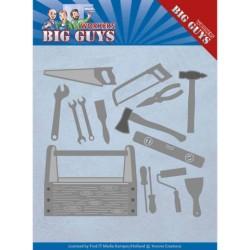 (YCD10203)Dies - Yvonne Creations - Workers - Handyman Tools