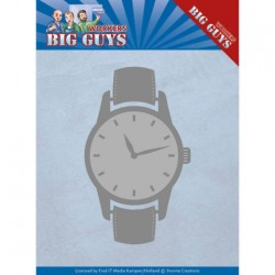 (YCD10206)Dies - Yvonne Creations - Big Guys - Watch