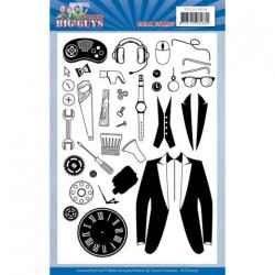 (YCCS10058)Clear Stamps - Yvonne Creations - Big Guys - Workers