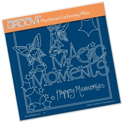 (GRO-FY-41505-03)Groovi Plate A5 MEL'S MAGIC MOMENTS