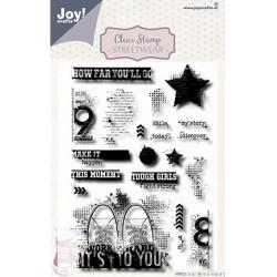 (6410/0529)Clear stamp Streetwear