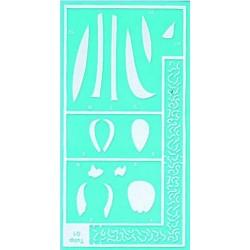 Pergamano stencil tulip (33301)