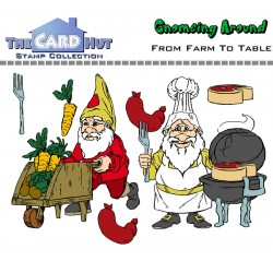 (GAFFTT)The Card Hut From Farm To Table Clear Stamps