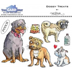 (MBPDT)The Card Hut Doggy Treats Clear Stamps