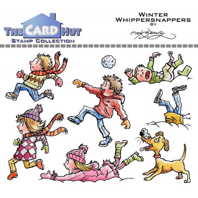 (MBWWWW)The Card Hut Winter Whippersnappers Clear Stamps