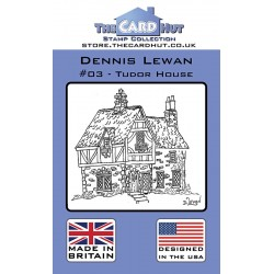 (CRDDL003)The Card Hut Tudor House Clear Stamps