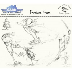 (CCMMFF)The Card Hut Festive Fun Clear Stamps