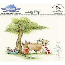 (CCMMLD)The Card Hut Lazy Days lear Stamps