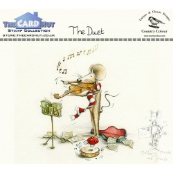 (CCMMTD)The Card Hut The Duet Clear Stamps
