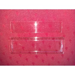"Plastic ruler 6"""