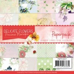 (PMPP10027)Paperpack - Precious Marieke Delicate Flowers