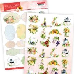 (PMMIN10006)Mini's - Precious Marieke Delicate Flowers