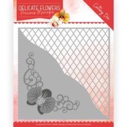 (PM10176)Dies - Precious Marieke Delicate Flowers - Delicate Square