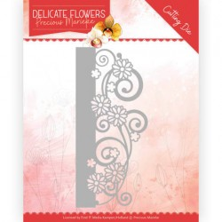(PM10178)Dies - Precious Marieke Delicate Flowers - Delicate Border