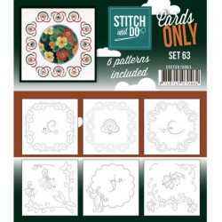 (COSTDO10063)Stitch & Do - Cards only - Set 63