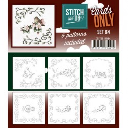 (COSTDO10064)Stitch & Do - Cards only - Set 64
