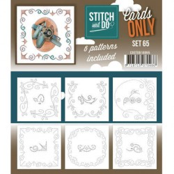 (COSTDO10065)Stitch & Do - Cards only - Set 65