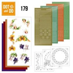 (DODO179)Dot and Do 179 - Precious Marieke - Delicate Flowers - Orchid