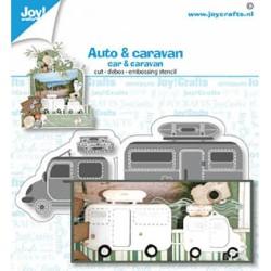 (6002/1480)Cutting debossing embossing dies car & caravan