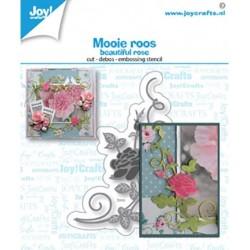 (6002/1502)Cutting debossing embossing dies beautiful rose