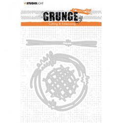 (STENCILSL273)Studio Light Cutting and Embossing Die, Grunge Collection 4.0, nr.273